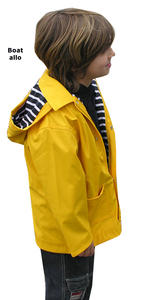 Ciré jaune  enfant /  yellow Parka Child